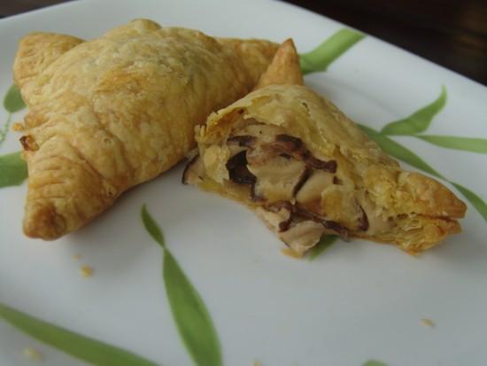 Feuillete aux morilles and crab toast recipe